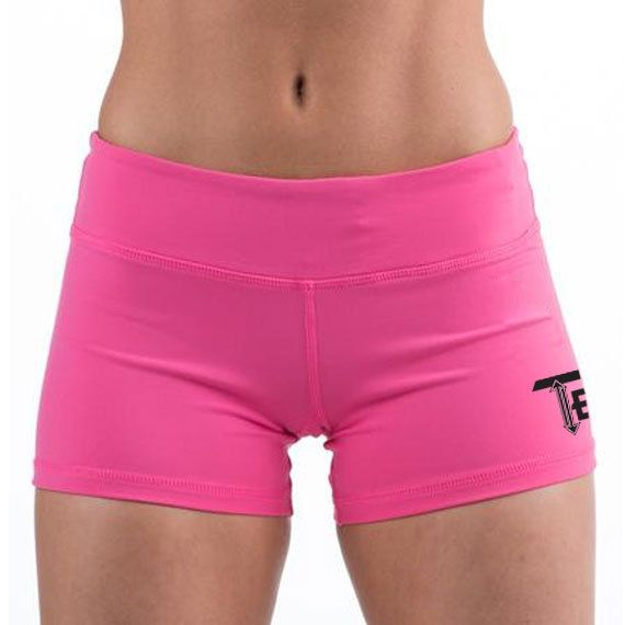 Hot Pink Gym Shorts | Women's Gym shorts | Booty Shorts | Crossfit shorts | 10 Colors