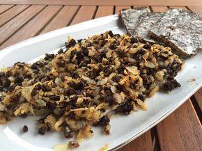 Matjesfilet in Zwiebelkruste – für jeden Fischliebhaber ein tolles Gericht. Außergewöhnlich und deftig zugleich. Müsst ihr ausprobieren! Danke an Fisch Jan für dieses Rezept. 000