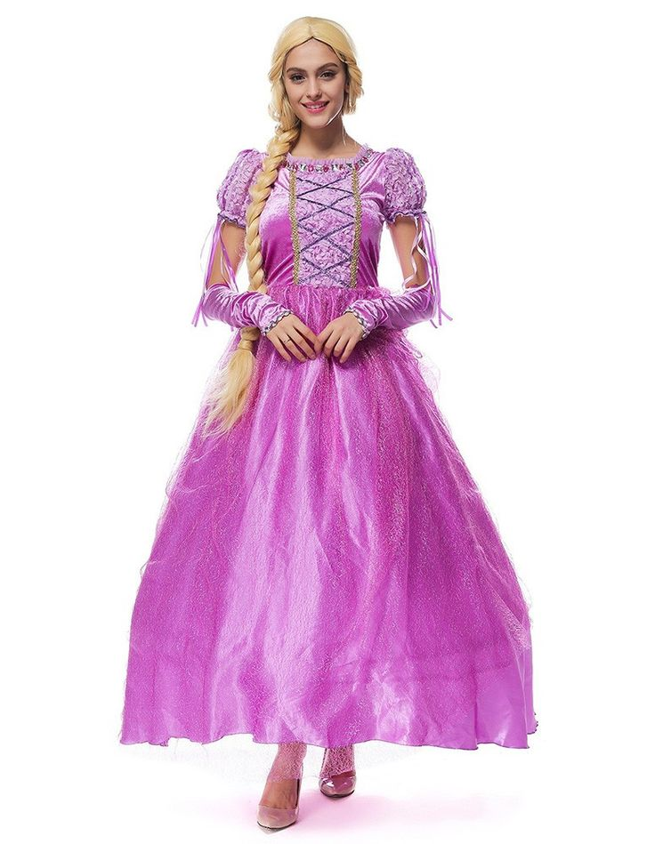 rapunzel halloween costume diy