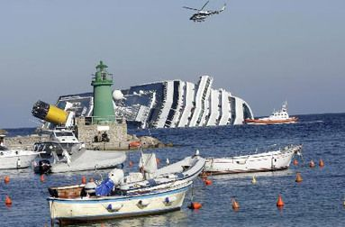 Refloating Costa Concordia to be largest maritime salvage in history | Latest News & Updates at Daily News & Analysis