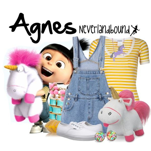 """Agnes (Despicable Me) ~Neverlandbound"" by gallifreyangryffindor on Polyvore"