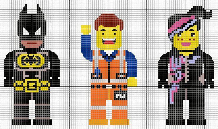 Stitch trash batman emmet et cool tag vous attendent - Modele lego gratuit ...
