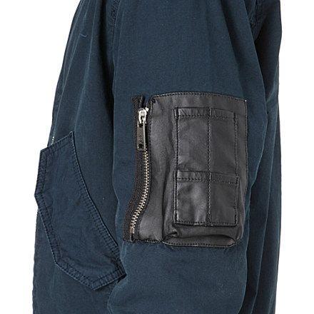 MCQ ALEXANDER MCQUEEN MA-1 bomber jacket (Petrol