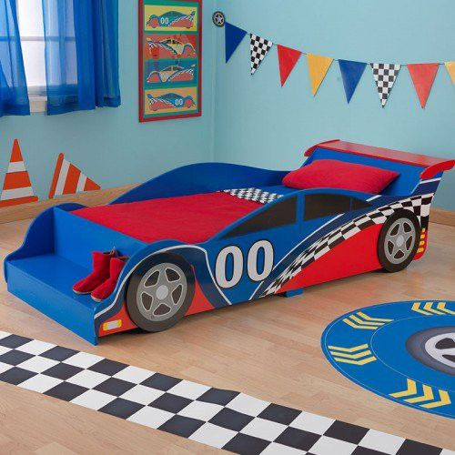 Perfect Race Car Toddler Bed