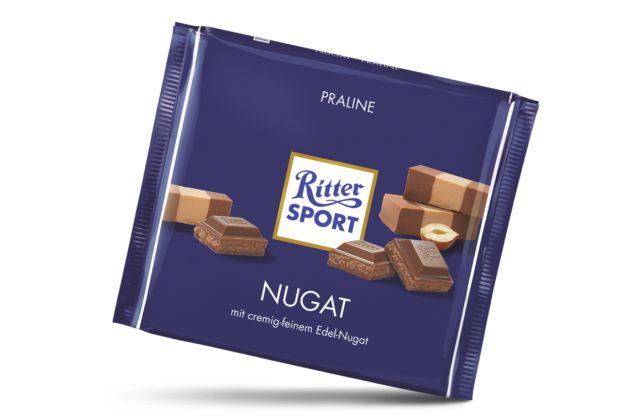 2006 - Große Quadrate mit 250 Gramm schokoladigem Inhalt entstehen
