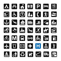 Best Map Symbol Images On Pinterest Symbols Icon Set And Us Map Symbols