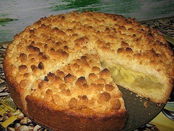 Царский яблочный пирог — потрясающе вкусный! | Самые вкусные кулинарные рецепты