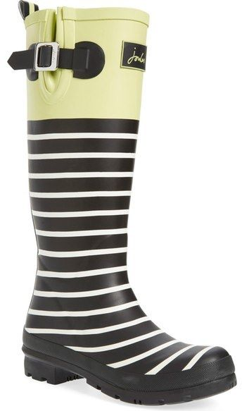 $44.96 marked down from $74.95! Joules 'Welly' Print Rain Boot (Women)