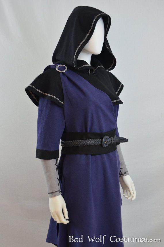 Skyrim Mage Costume - Elder Scrolls fantasy cosplay, LARP - six-piece ensemble - Bad Wolf Costumes