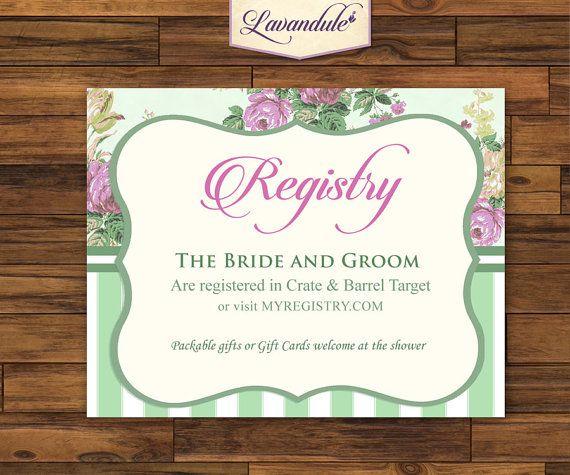 Registry Sage Green Bridal Tea Party by Lavandule on Etsy