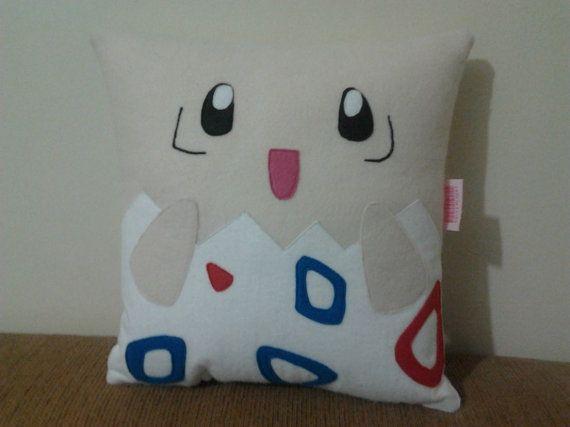 Handmade Pokemon Togepi Party Favor Gift Pillow by RbitencourtUSA, $24.95