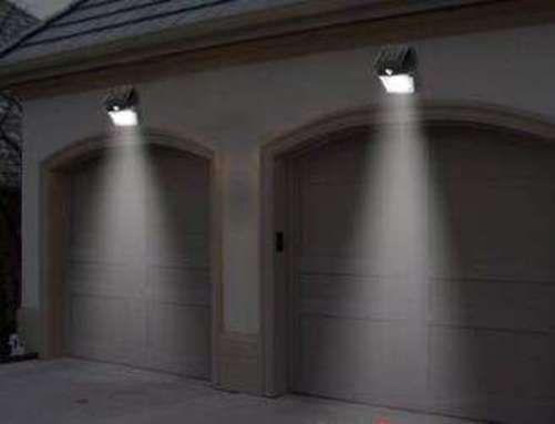 Solar Power Spot Light Motion Sensor Outdoor Garden Driveway Security Gutter Led