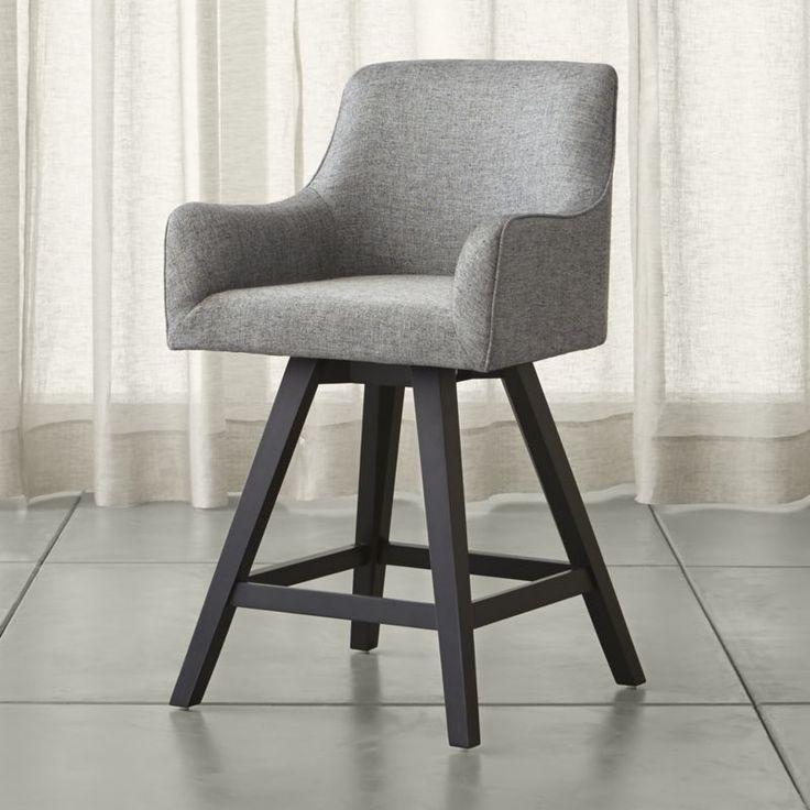 Shop Harvey Swivel  Counter Stool.   Designed by Bethan Gray, Harvey is firmly cushioned to provide exceptional back support with settle-in curves that flow into a tight seat, back and armrests.