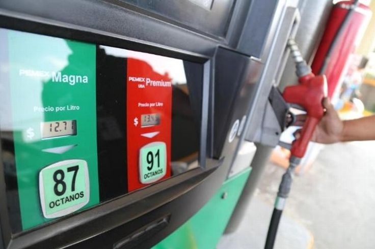 Precios de las gasolinas y Diésel para hoy lunes - XEU