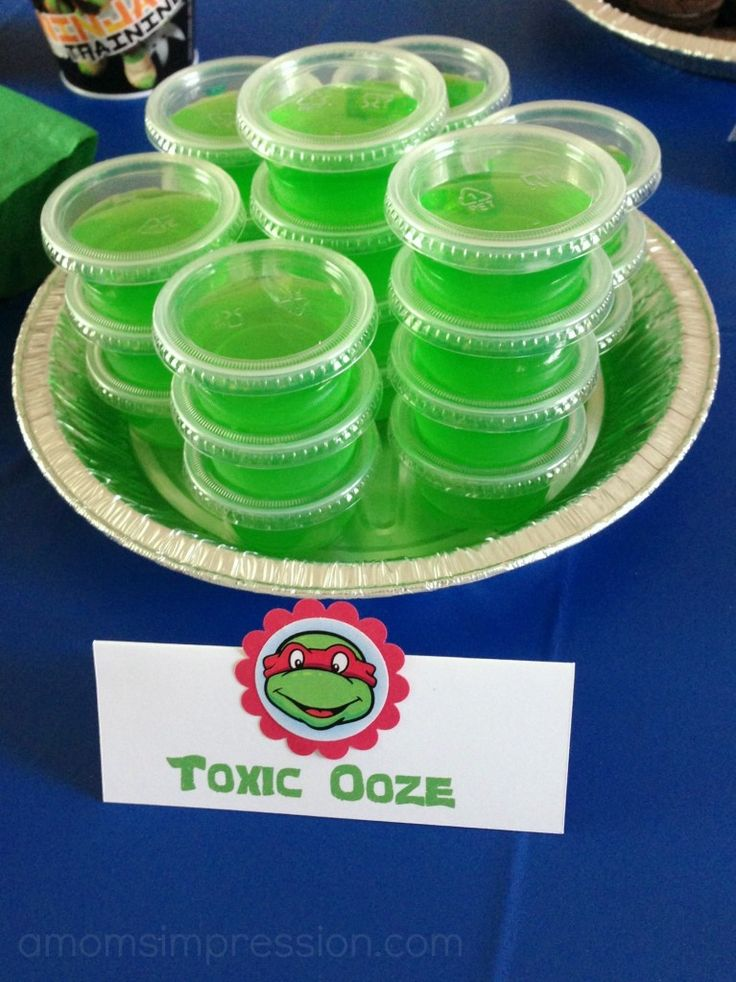 Teenage Mutant Ninja Turtles Birthday Party ~ Part 1 The Decorations