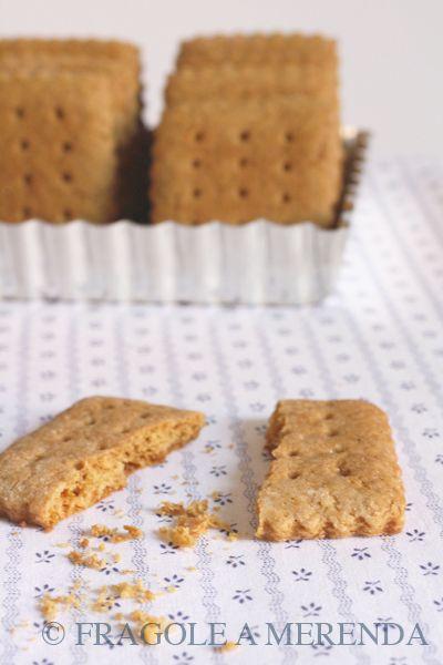 Fragole a merenda: Graham Crackers