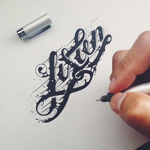 Hand Type Vo. XX by Raul Alejandro