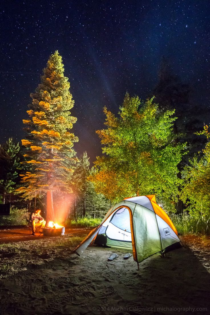 Meeks Bay Camping (California), by Michal Cialowicz via 500px