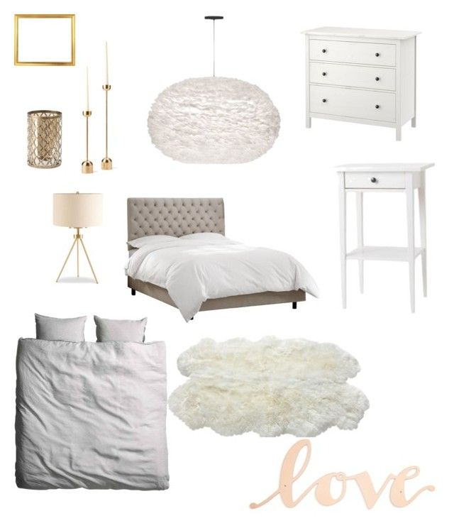 Guestroom by majkenmatilda on Polyvore featuring polyvore, interior, interiors, interior design, home, home decor, interior decorating, Ink & Ivy, Luxe Collection and Primitives By Kathy