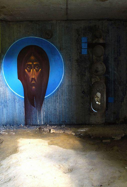 Sergii Radkevych 2011 Holy Face. Lviv, Ukraine