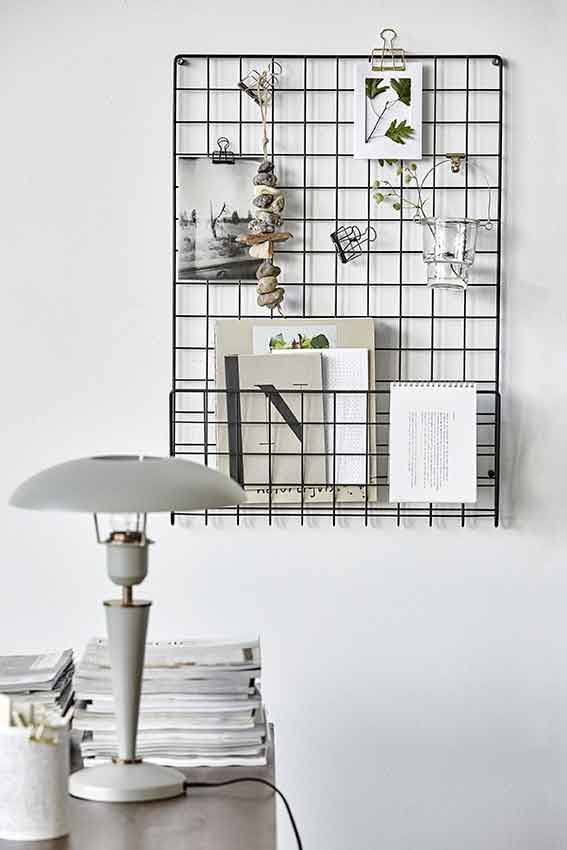 A organized office is a beautiful home decoration in itself. Products by House Doctor