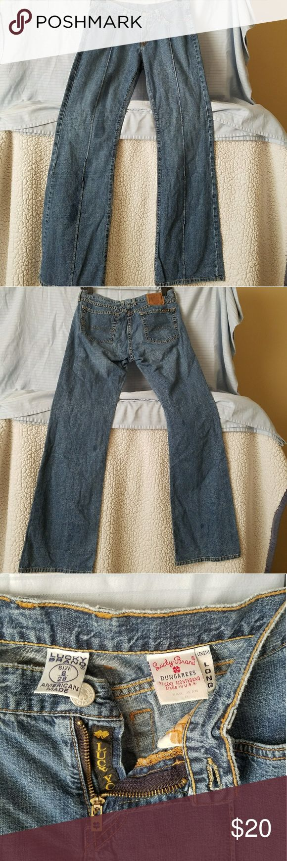 Lucky Brand Dungarees Jeans Lucky Brand Dungarees Jeans  Women's Long Lucky Brand Jeans