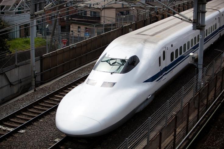 Bullet Train, Tokyo, Japan.