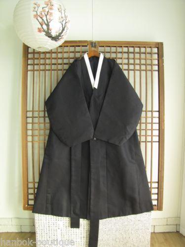 HANBOK Coat Durumagi Korean Traditional Clothes Men Coat