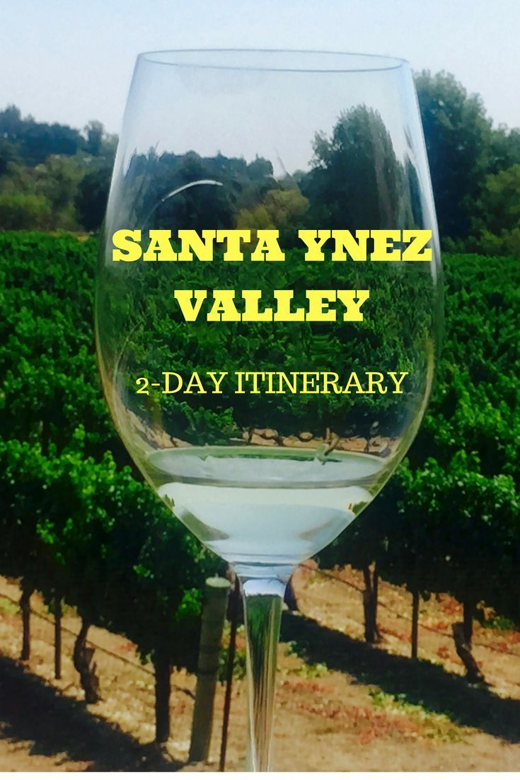 A 2-Day Itinerary in the Santa Ynez Valley filled with wine tasting, horseback riding, and walks through Solvang