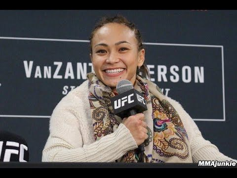 MMA Michelle Waterson showed her skills at UFC on FOX 22 but not calling anyone out