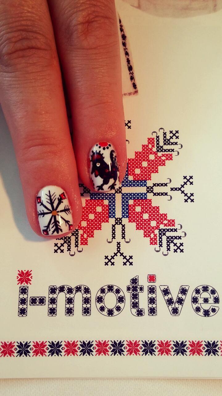România nails design