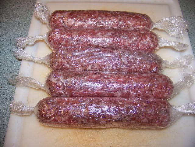 """""""How to Make Sausage Links Without a Stuffer......"""""""