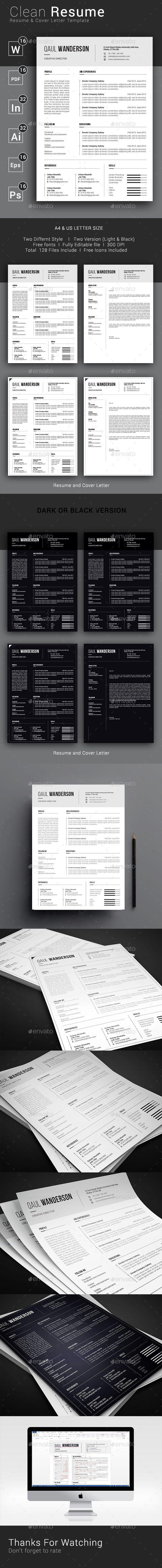 Clean Resume CV 400 best CareerResume