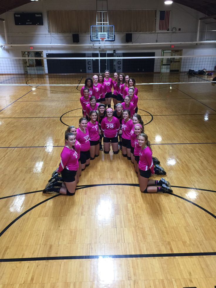 Volley for the cure Dig Pink Game! #volleyball #hope