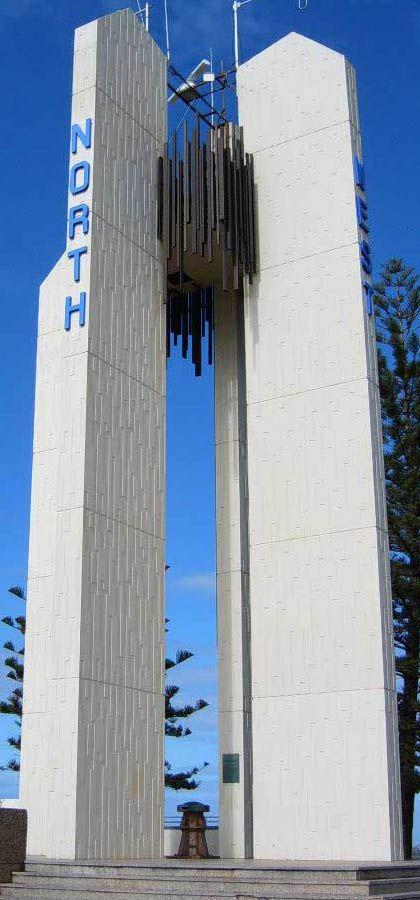 Captain Cook Memorial Lighthouse Coolangatta, Queensland, Australia.