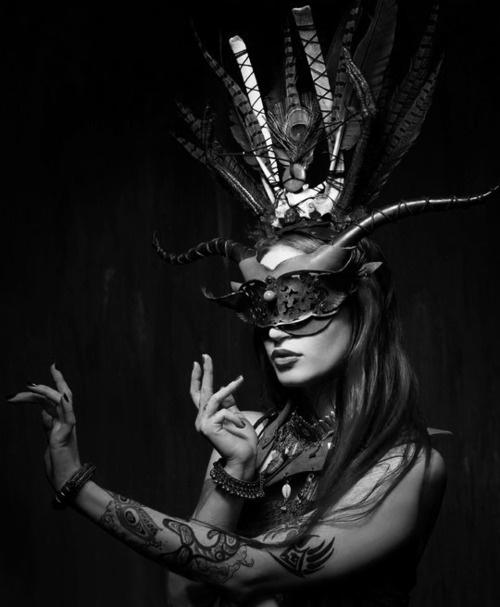 Ebony masked tribal dance porn 90
