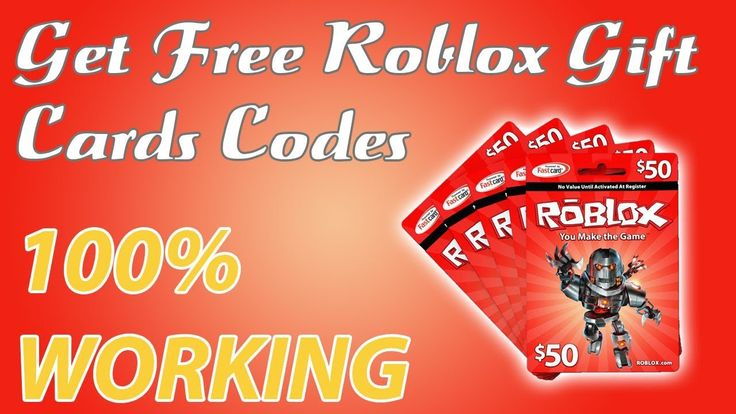 Free Roblox Gift Cards - 10000 Robux Codes 2019 [100% ...