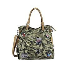 Femmes Military Sac Cabas Camouflage Patchs Sac à Main Épaule Sac Armée: 32,95 EUREnd Date: 26-sept. 23:12Buy It Now for only: US 32,95…