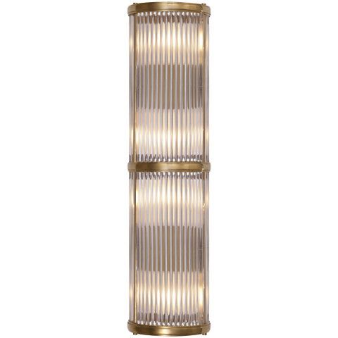 Allen Medium Linear Sconce in Natural Brass - Wall Lamps / Sconces - Lighting - Products - Ralph Lauren Home - RalphLaurenHome.com