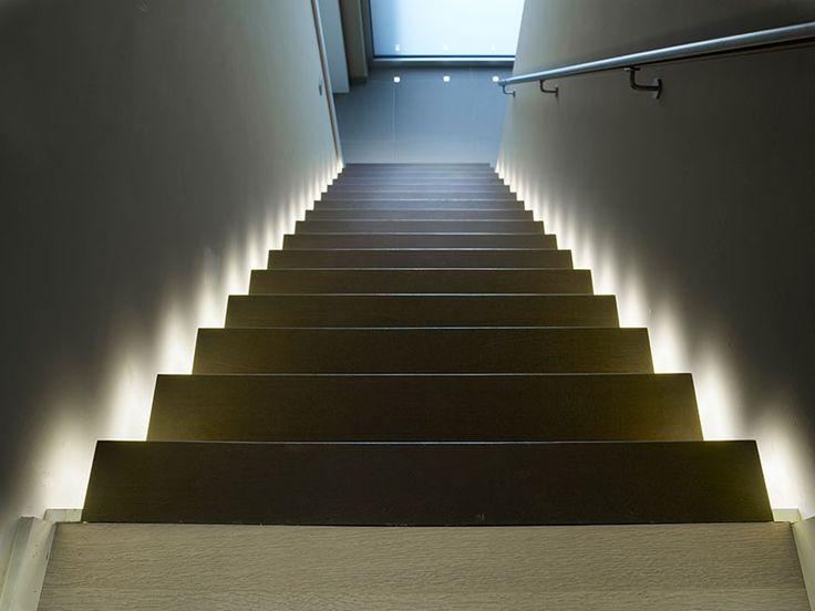 Vlammende trap vol licht | Compleet Trappen