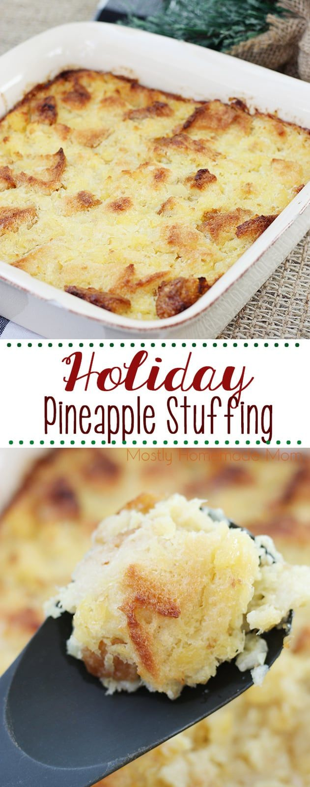 Pineapple Stuffing Recipe Cooking Recipes Side Dish Recipes Food Recipes