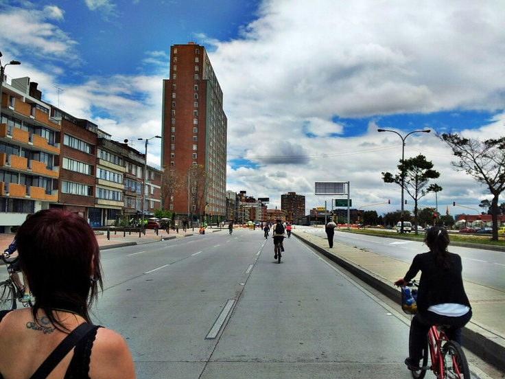 Ciclovía weekend in #Bogotá,  #Colombia. Visit our website: http://www.going2colombia.com/