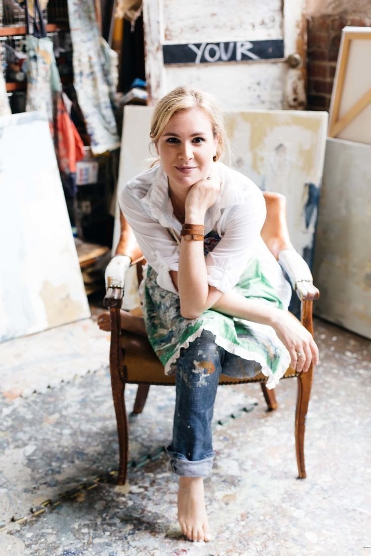 BTS with artist Deann Hebert: http://www.stylemepretty.com/living/2015/08/06/behind-the-scenes-with-artist-deann-hebert/ | Photography: Paige French - www.paigefrench.com