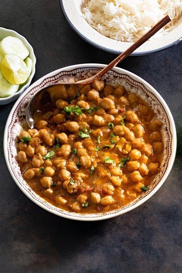 Przepis Na Dania Indyjskie Masala Recipe Chana Recipe Indian Food Recipes
