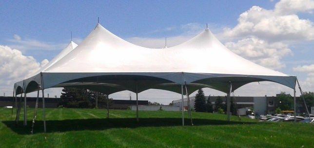 Close up of Tent Booth Centennial