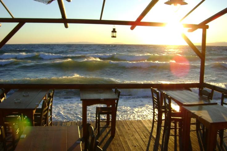 Traditional Tavern, Thasos Island, Greece