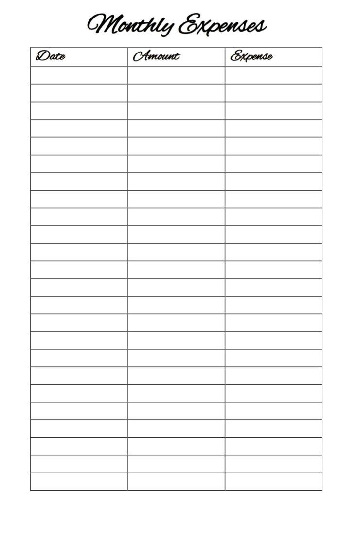 Free Worksheet Expense Tracking Worksheet 17 best ideas about expense tracker on pinterest spending printable monthly expenses 2 pages