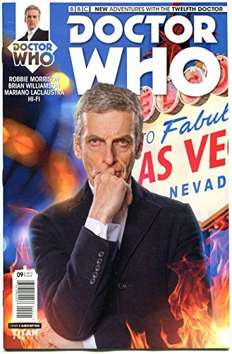 DOCTOR WHO #10 B NM 12th Tardis 2014 Titan 1st more DW in store Sci-fi @ niftywarehouse.com #NiftyWarehouse #DoctorWho #DrWho #Whovians #SciFi #ScienceFiction #BBC #Show #TV