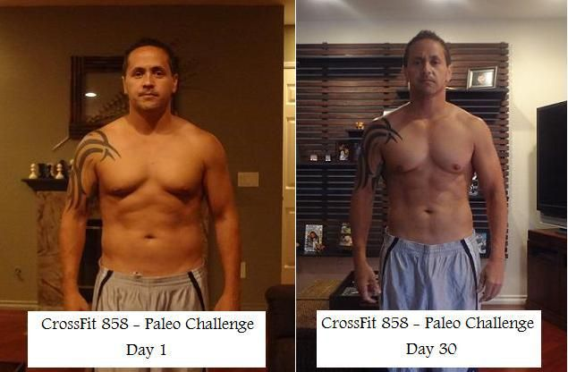 30 Day Paleo Challenge Before And After  Gluten Free For -5065