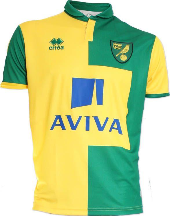 Norwich City FC (England) - 2015/2016 Erreà Third Shirt